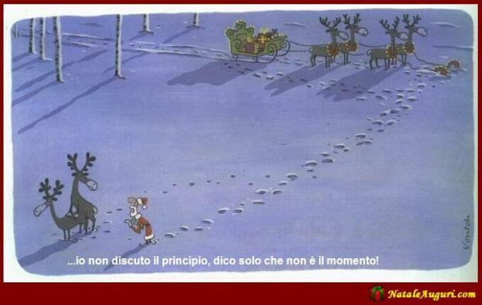 Auguri Di Matrimonio In Ritardo : Vignette umoristiche di natale